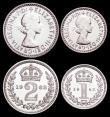 London Coins : A159 : Lot 931 : Maundy Set 1962 ESC 2579 UNC and lustrous