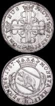 London Coins : A160 : Lot 1241 : Swiss Cantons - Bern (2) 20 Kreuzer 1787 KM#119 A/UNC and lustrous with light cabinet friction, 4 Kr...
