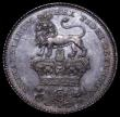 London Coins : A160 : Lot 2535 : Sixpence 1826 Proof ESC 1661, Bull 2432 nFDC with attractive and colourful toning