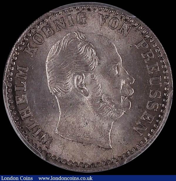 Germany - Prussia 2-1/2 Silber Groschen 1868 A Choice BU and graded MS65 by PCGS : World Coins : Auction 160 : Lot 3257