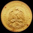 London Coins : A160 : Lot 3351 : Mexico 2-1/2 Pesos 1945 EF