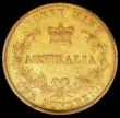 London Coins : A161 : Lot 1089 : Australia Sovereign 1868 8 over 6 Sydney Branch Mint unlisted by Marsh or McDonald, in a PCGS holder...