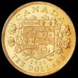 London Coins : A161 : Lot 1110 : Canada 10 Dollars 1914 PCGS MS63+ Canadian Gold Reserve issue