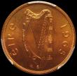 London Coins : A161 : Lot 1242 : Ireland Penny 1965 Proof (Coincraft IR1D-185) in a PCGS holder and graded PR66 RD, unlisted as a Pro...