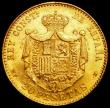 London Coins : A161 : Lot 1357 : Spain 20 Pesetas 1890 (90) MP-M KM#693 GEF and lustrous