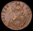 London Coins : A161 : Lot 1513 : Farthing 1675 Peck 528 NEF with traces of lustre