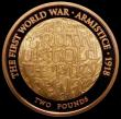 London Coins : A161 : Lot 2224 : Two Pounds 2018 First World War - Armistice - The Truth Untold, The Pity Of War, Gold Proof FDC in c...