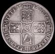 London Coins : A161 : Lot 2840 : Halfcrown 1746 6 over 5 LIMA ESC 607, Bull 1689 approaching Fine, Rare