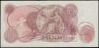 London Coins : A161 : Lot 65 : Ten Shillings O'Brien B286 issued 1961, VERY LOW number first run note series A01 000135, (Pick...
