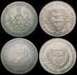 London Coins : A161 : Lot 909 : 19th Century (3) Shilling - Norfolk 1811 Yarmouth Davis 14 VF or better, Northumberland - Newcastle ...