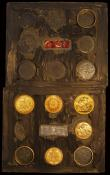 "London Coins : A162 : Lot 1111 : USA World War II Escape and Evasion Kit ""Barter Kit"" containing GB Sovereign 1927 SA, Half..."