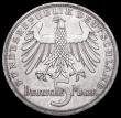 London Coins : A162 : Lot 1182 : Germany - Federal Republic 5 Marks 1955F 150th Anniversary of the Death of Friedrich von Schiller KM...