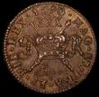London Coins : A162 : Lot 1217 : Ireland Halfcrown Gunmoney 1690 Apr: Obverse 1, Timmins TB30L-1B EF with some small touches of resid...