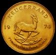 London Coins : A162 : Lot 1276 : South Africa Krugerrand 1974 KM#73 UNC