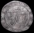 London Coins : A162 : Lot 1625 : Shilling 1654 Commonwealth, No stop after OF and triple struck O in OF, ESC 992A, Bull 143 VG or sli...