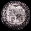 London Coins : A162 : Lot 1628 : Shilling Charles II Third Hammered Issue S.3321 mintmark Crown VF with signs of flan stress on the o...