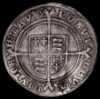 London Coins : A162 : Lot 1630 : Shilling Edward VI Fine silver issue S.2482 mintmark y Fine, struck on an uneven flan
