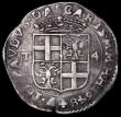 London Coins : A162 : Lot 1688 : Malta 4 Tari 1648 KM#69 Reverse: Crowned Arms of Lascaris Good Fine with an edge nick between 6 and ...