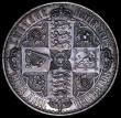 London Coins : A162 : Lot 1733 : Crown 1847 Gothic UNDECIMO ESC 288, Bull 2571 NEF with some contact marks