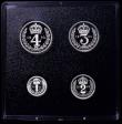 London Coins : A162 : Lot 2391 : Maundy Set 1992 ESC 2609 nFDC with minor toning or handling marks, in the Royal Mint box of issue