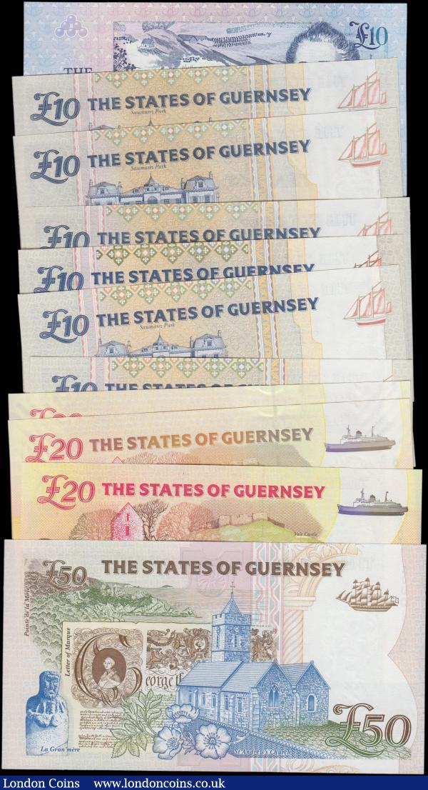 guernsey buy and sell world banknotes auction prices. Black Bedroom Furniture Sets. Home Design Ideas