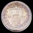 London Coins : A162 : Lot 3054 : Threepence 1884 ESC 2091, Bull 3426 in a PCGS holder and graded PCGS MS64