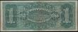 London Coins : A162 : Lot 362 : USA 1 Dollar Silver Certificate dated 1886 series B62549351, signed Rosecrans & Huston, large br...