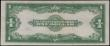 London Coins : A162 : Lot 363 : USA 1 Dollar Silver Certificate dated 1923 series Y48218430D, signed Speelman & White, blue seal...
