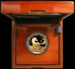 London Coins : A162 : Lot 495 : One Hundred Pounds 2014 - Year of the Horse Gold Proof in the Royal Mint box of issue with certifica...