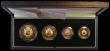 London Coins : A162 : Lot 679 : United Kingdom 1989 Gold Proof Four Coin Sovereign Collection, 500th Anniversary of the First Gold S...