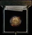 London Coins : A163 : Lot 1896 : Two Pounds 1997 Gold Proof S.K8 FDC in the Royal Mint box of issue with certificate