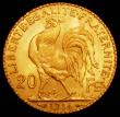 London Coins : A163 : Lot 2082 : France 20 Francs Gold 1914 KM#857 UNC