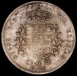 London Coins : A163 : Lot 2117 : Italian States - Naples 120 Grana 1825 KM#294 GF/NVF the reverse with underlying lustre