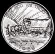 London Coins : A163 : Lot 2182 : USA Half Dollar Commemorative 1926S Oregon Trail Memorial, Breen 7469 Lustrous UNC