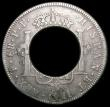 London Coins : A163 : Lot 2406 : Bolivia 8 Reales 1795 PTS with a 20mm diameter hole in the centre so as to resemble an Australia Hol...