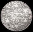 London Coins : A163 : Lot 2505 : Morocco 10 Dirhams AH1320 London Mint Y#22.1 UNC with light contact marks