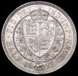 London Coins : A163 : Lot 2597 : Halfcrown 1893 ESC 726, Bull 2778, Davies 660, dies 1A, UNC or near so with a small metal flaw on th...