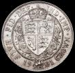 London Coins : A163 : Lot 2599 : Halfcrown 1901 ESC 735, Bull 2787 Bright A/UNC with light contact marks and small rim nicks