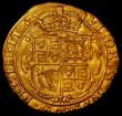 London Coins : A163 : Lot 265 : Double Crown Charles I S2698 mint mark Lis GVF and pleasing