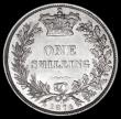 London Coins : A163 : Lot 2651 : Shilling 1874 Crosslet 4 in date, ESC 1326, Bull 3044, Davies 903, dies 5B, Die Number 15, this the ...