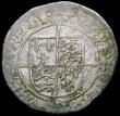 London Coins : A163 : Lot 279 : Groat Henry VIII Posthumous Issue, Durham House mint, Bust 6, S.2405, mintmark Bow, portrait and shi...
