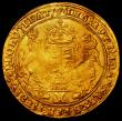 London Coins : A163 : Lot 360 : Sovereign Edward VI Second Period January 1549 to April 1550 mint mark y (Southwark Mint) weakly str...