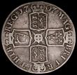 London Coins : A163 : Lot 388 : Crown 1707E SEXTO ESC 103, Bull 1352, VG
