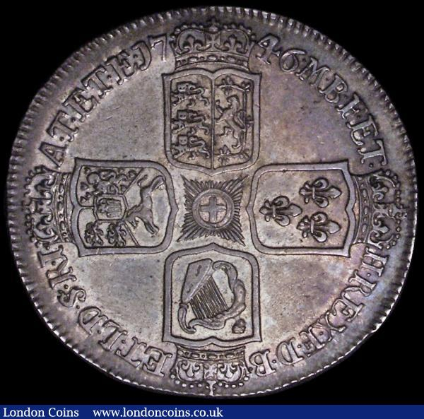 Crown 1746 LIMA ESC 125, Bull 1668 NEF with an attractive colourful tone : English Coins : Auction 163 : Lot 393