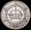 London Coins : A163 : Lot 426 : Crown 1930 ESC 370, Bull 3638 EF with some contact marks and some toning