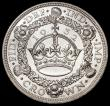 London Coins : A163 : Lot 429 : Crown 1932 ESC 372, Bull 3641 the obverse with prooflike fields, UNC or very near so and lustrous
