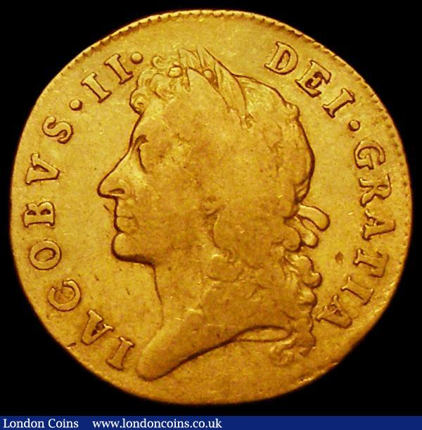 Guinea 1686 First Bust S.3400 VG or better, a problem-free example : English Coins : Auction 163 : Lot 493