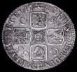 London Coins : A163 : Lot 811 : Shilling 1723 SSC First Bust, GEORGIVS with G's broken on the lower curve as ESC 1176, Bull 158...
