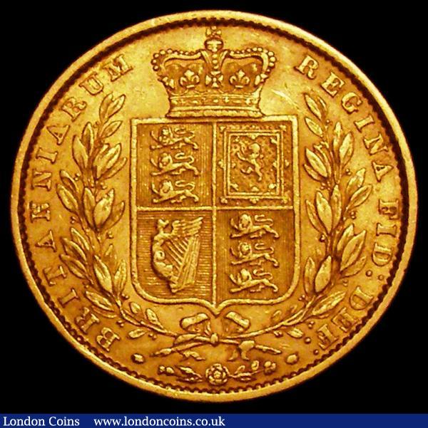 Sovereign 1862 Close Date S.3852D GF/NVF : English Coins : Auction 163 : Lot 903
