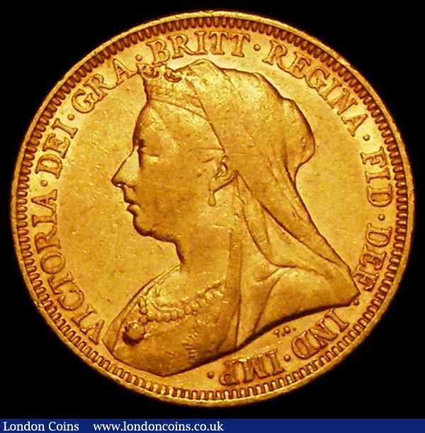 Sovereign 1894S S.3877, Marsh 163 Fine/Good Fine : English Coins : Auction 163 : Lot 969